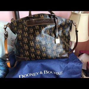 Dooney Burke satchel hand bag